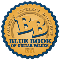 Honesty. Accuracy. Integrity. Blue Book of Guitar Values. Since 1981